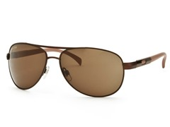 Light Brown/Brown Aviator 23 Sunglasses