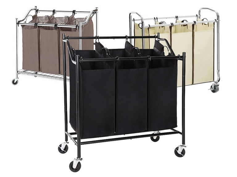 Three-Bag Laundry Sorters - Your Choice