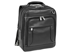 Lincoln Park Leather Three-Way Computer Briefpack