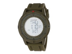 Men's Touch Compass Watch - Green