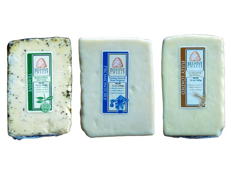 BeeHive Holiday Cheese Sampler (3)