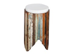 Foyer Stool with Cushion