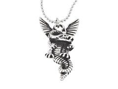 Stainless Steel Dragon Pendant w/ Chain
