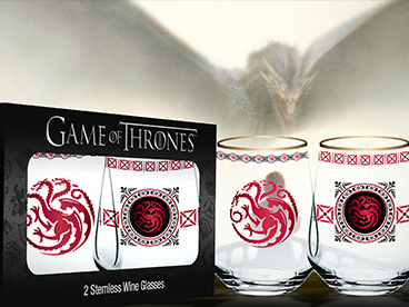 Game of Thrones Glassware
