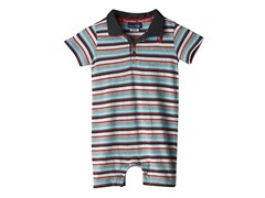 Knit Romper - Multi Stripe (0M-18M)