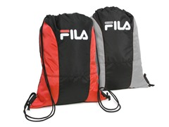 Fila Red & Gray X4 Sackpack 2 Pack