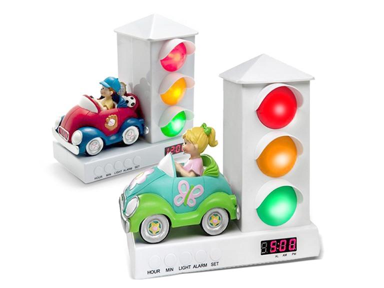 Stoplight Alarm Clock - 2 Choices