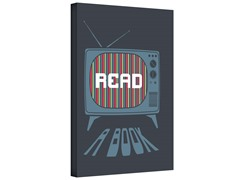 Read A Book Gallery Wrapped Canvas 2-Sizes