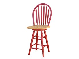 Arrowback Stool (2 Sizes - 5 Colors)