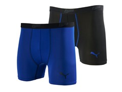 Puma Tech Trunk 2pk - Black/Blue (6-10)