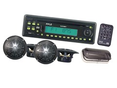 Marine AM/FM/CD Player Receiver w/Speakers