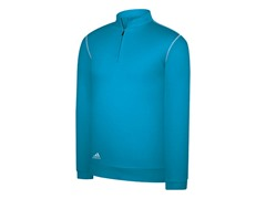 Textured Half-Zip Pullover - Aquatic