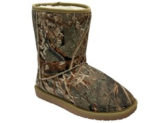 "Women's Mossy Oak 9"" Boots - Duck Blind"