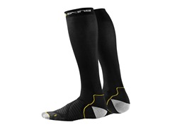 Essentials Compression Socks, Black (XS)