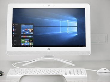"HP 19.5"" Widescreen HD+ All-In-One"