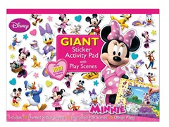 Disney Minnie-Bowtique Giant Sticker Pad