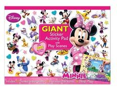 Disney Minnie-Bowtique Giant Sticker Pad