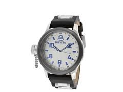 Men's Russian Diver White/Black Watch