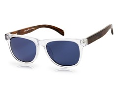 Arden Sunglasses, Walnut