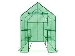 Walk-in 2-Tier 8-Shelf Greenhouse