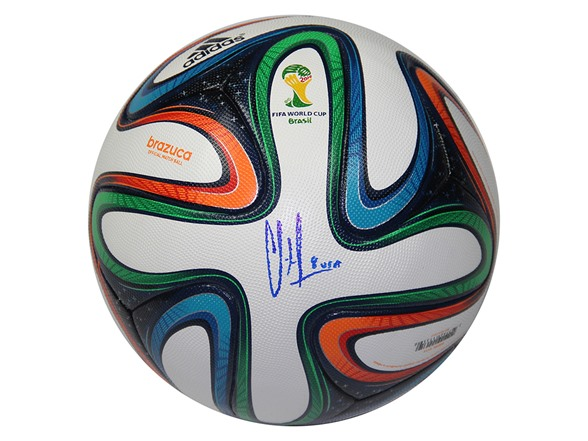 12248aebbbf Clint Dempsey Signed Adidas WC Ofc Ball