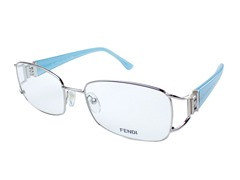 Women's Optical Frame, Silver/Blue
