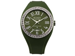 Men's BOX 40Z GREEN Green Dial Watch