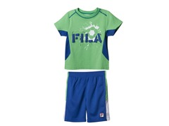 Boys Tee & Short Set - Soccer