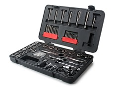 65-Piece Ratcheting Tap & Die SAE Set