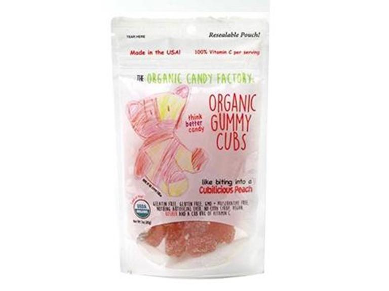Organic Candy Factory Peach Gummies 10ct