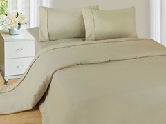 Lavish Home Sheet Set - Bone - 3 Sizes