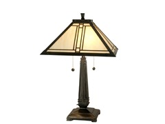 16 X 24.25 Tiffany Mission Table Lamp