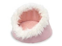 Feline Cat Comfort Cavern Pet Bed - Pink