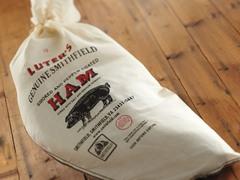 Luter's Smoked & Peppered Smithfield Ham - Bone-In Leg