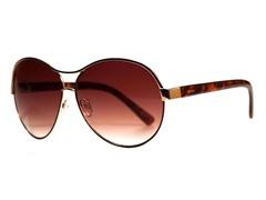 Amaryllis Sunglasses, Gold/Tortoise