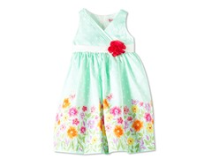 Flowers & Rose Woven Dress (6)