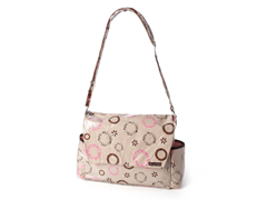 Safari Pink Messenger Style Bag