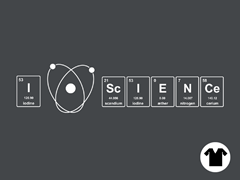 I Love Science V-Neck
