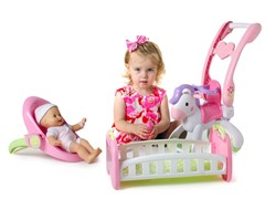 Fisher-Price Little Mommy Baby Doll Set