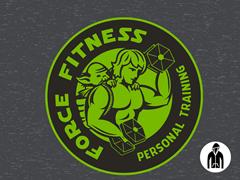 Force Fitness Jersey Zip Hoodie