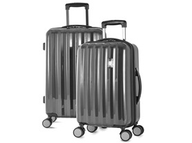 Olympia USA Titan 2Pc. Spinner Luggage Set