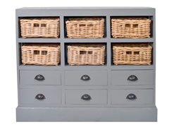 Nantucket Chest - Light Gray