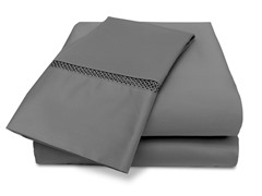 Veratex Princeton 500TC Sheet Set-Pewter-5 Sizes