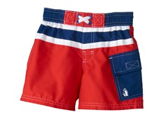 Swim Trunk - Red (4-6)