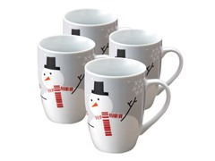 Lil Hoot & Snowman 11oz Mug - Set of 4