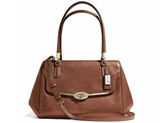 Coach Madison Madeline Leather E/W Satchel-B