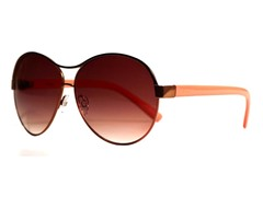 Amaryllis Sunglasses, Brown/Coral