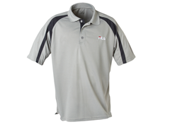 Polo Shirt Gray/Black