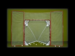 "1.5"" Folding Lax Goal with Backstop"