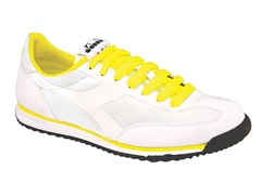DD Cross Nylon - White/Yellow
